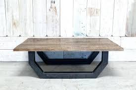 30 coffee table custom wood top coffee table w metal base 30 inch oval coffee table