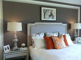 Stunning Orange And Gray Bedroom Ideas That Look So Relaxing Gray And Orange Bedroom