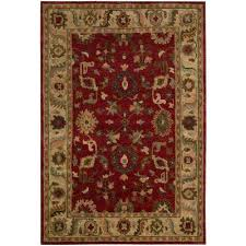 tahoe red 9 ft x 12 ft area rug