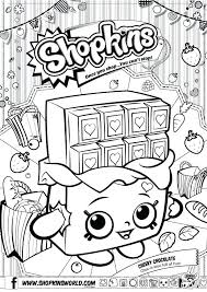 Shopkin Coloring Pages Free Printable Coloring Pages Season 1 Apple