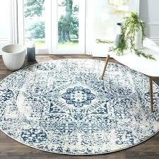 evoke ivory blue rug vintage chic distressed boho for nursery