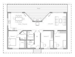 CH61 Small Beach House Plan Beach House Plans