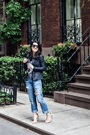 style bloggers denim outfit of the day elle leather 3 jpg