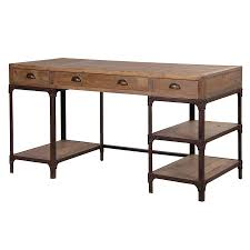 industrial furniture style. industrial style office furniture desk blaine pine with drawers