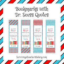 Seuss quotes bookmarks pdf template or form online. Free Printable Dr Seuss Bookmarks Page 1 Line 17qq Com