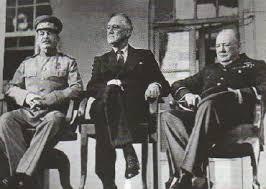 Тегеранская конференция ноября декабря года  Встреча большой тройки в Тегеране Ноябрь 1943 г