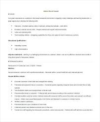 Restaurant Waiter Resumes Waiter Resume Objective Waitress Examples Sample Of Restaurant Job
