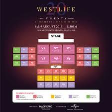 Westlife Kl Concert Seating Plan Ticketing Details Released
