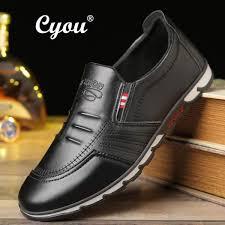 dimana beli cyou 2018 genuine leather shoes men brand footwear non slip thick sole fashion men s casual shoes kasut kasual lelaki intl di indonesia