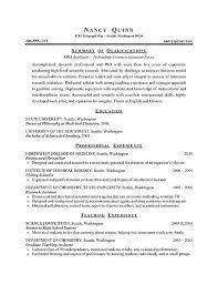 Graduate Resume Sample Free Resume Templates 2018