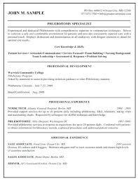 Ekg Certification Resume