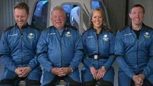 space on Bezos' Blue Origin rocket ...