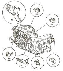 Where is the Transmission Speed sensor on a 2005 chevy malibu 2.2l ...