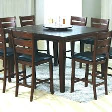 glass top counter height table sets high round kitchen dini