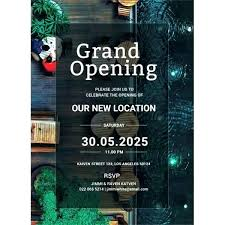 Grand Opening Invitations Grand Opening Invitations Mwb Online Co