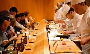 Image result for images sushi bar top NYC restaurant