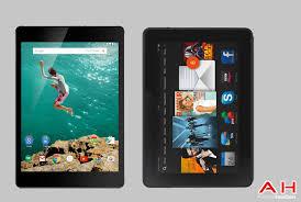 Nexus 9 vs Amazon Kindle Fire HDX 8.9 ...