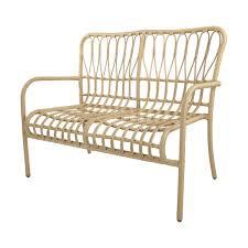furniture kmart. lucia 2 seater rattan lounger furniture kmart
