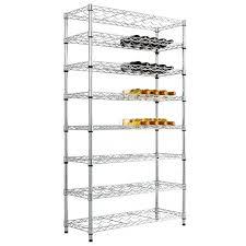 chrome wine rack. Brilliant Rack Chrome Wire Shelving  Full Height Wine Racks 2 Size Options Available In Rack