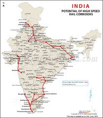 high sd rail corridors bullet train