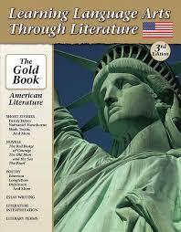 the gold book american literature high school skills