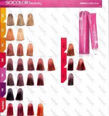Socolor Red Color Chart Matrix Socolor Hair Color Photo 7 Matrix Hair Color