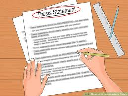 How To Write A Dissertations How To Write A Masters Thesis With Pictures Wikihow