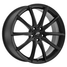 5x110 Bolt Pattern Impressive Platinum 448SB Flux 448X48 Satin Black With Satin ClearCoat Wheels