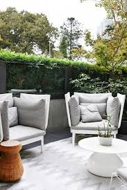 modern outdoor living melbourne. house tour: a light, contemporary apartment in melbourne gallery - vogue living modern outdoor