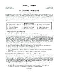 Oilfield Resume Samples Oil Field Job Sample Pictures To Pin