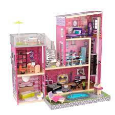 Kidkraft Petal Pink Kitchen Kidkraft Uptown Dollhouse With Furniture