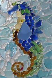 sea glass art sea glass crafts sea