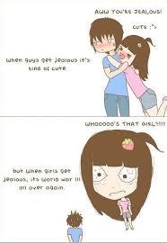 Cute Jealousy