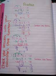 solving equations with variables on one side of the equal sign