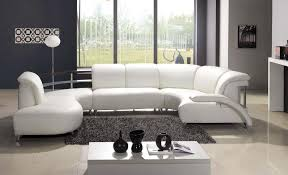 white living room with gray tinge