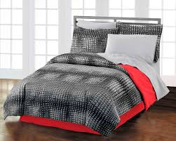 comforter sets for guys teen bedding black red boy twin xl or full 5