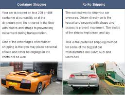 Car Shipping Quotes Cool International Auto Shipping Services Vancouver Great Deals Free