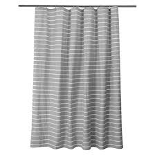 tan and gray shower curtain. stripe shower curtain radiant gray - threshold™ tan and u
