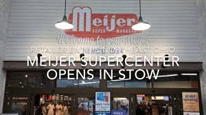 pers enthused over meijer opening in stow news akron beacon journal akron oh