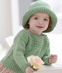 Free Knitting Patterns To Download Inspiration Baby Boat Neck Sweater And Sun Hat Free Pattern To Download