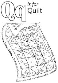 We have over 3,000 coloring pages available for you to view and print for free. Quilt Letter Q Coloring Page Free Printable Coloring Pages For Kids