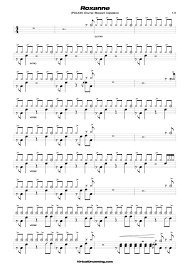 Songs To Play On Drums Stewart Copeland Solo Roxanne Tabs