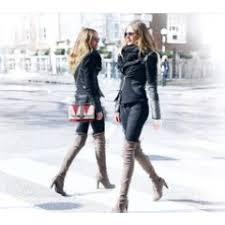 Модный блог Интернет магазин Сезона обувь одежда и многое  Как и с чем носить ботфорты и сапоги чулки