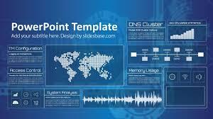 Technology Screen Powerpoint Template