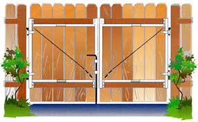 Perfect Wood Fence Gate Plans Metal Framework Kit For Wooden Intended Design