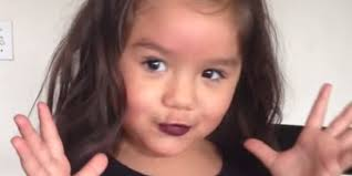 little makeup tutorial 4 year old action 4 year old explains why she went into mom