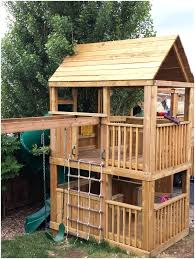 backyard clubhouse plans wondrous free swing set plans for your kids fun backyard play area backyard clubhouse plans this is a playhouse