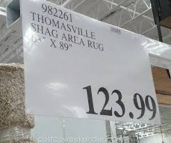 deal for the thomasville marketplace tango collection luxury rug at costco