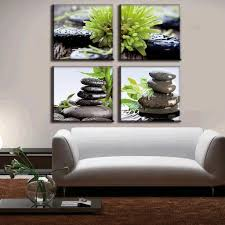 Living Room Canvas Paintings Green Canvas Paintings Promotion Shop For Promotional Green Canvas