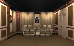 image of acoustic wall panels home theater